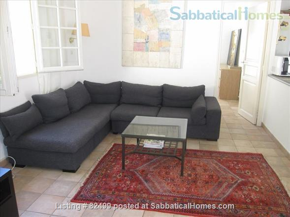 Charming, spacious 2 bedroom - 1 bath terrace apt. with parking  in lovely, quiet area, 2 miles from Cours Mirabeau Home Rental in Aix-en-Provence, Provence-Alpes-Côte d'Azur, France 4