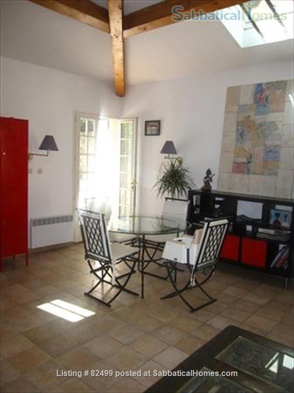 Charming, spacious 2 bedroom - 1 bath terrace apt. with parking  in lovely, quiet area, 2 miles from Cours Mirabeau Home Rental in Aix-en-Provence, Provence-Alpes-Côte d'Azur, France 5