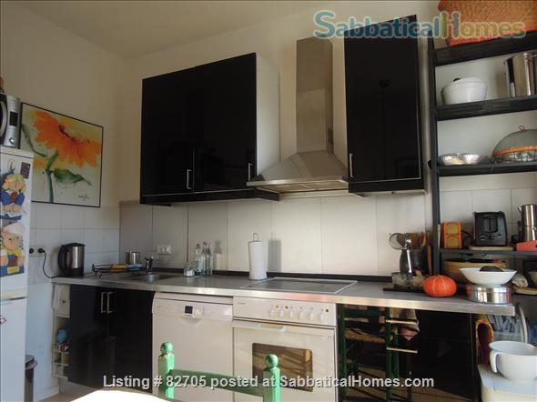 Bright Spacious 4-room / 100m2+,  in Bonn-Sudstadt- fully furnished apartment for short term rental  – 1,500 Euros per month Includes heating/electric/water and Internet-telephone. Home Rental in Bonn, NRW, Germany 8