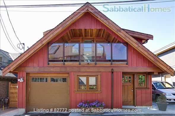 Little House near UBC, Point Grey, Ocean View, Home Rental in Vancouver, British Columbia, Canada 1