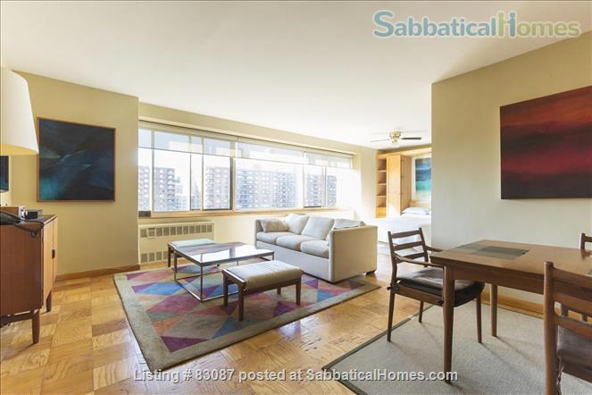 Spacious, sunny studio with incredible view of Central Park/Steps from subway and buses Home Rental in New York, New York, United States 0