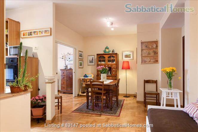 Nice apartment, 5 minute by bus from the Vatican. Home Exchange in Rome, Lazio, Italy 1