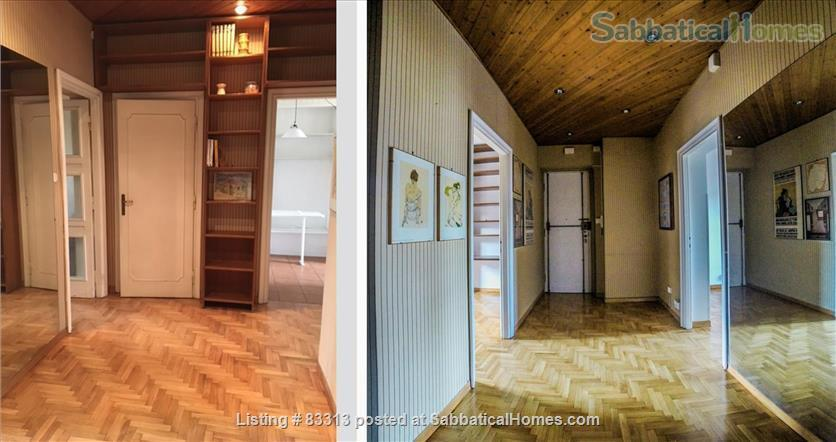 Stunning Attic to let/exchange in Central Rome Home Exchange in Rome 2