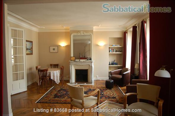 Classic Parisian apartment just off Canal St. Martin Home Rental in Paris, IDF, France 1