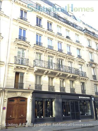 Classic Parisian apartment just off Canal St. Martin Home Rental in Paris, IDF, France 5