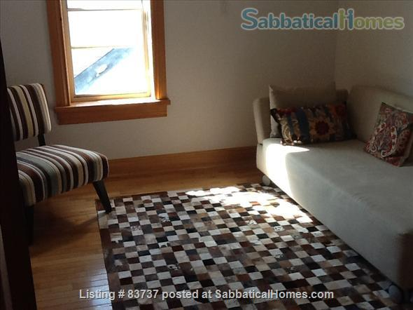 Bright, furnished one-bedroom apartment in Victorian house close to UofT, Ryerson and downtown hospitals Home Rental in Toronto, Ontario, Canada 2