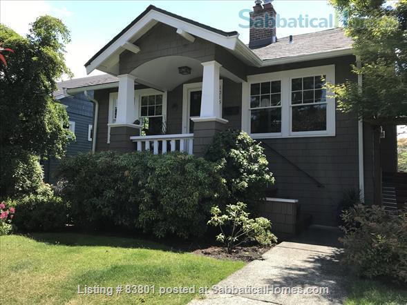 Wallingford/Greenlake/University of Washington- Quiet, 1 Bedroom 1 bath with private entrance in vibrant neighborhood Home Rental in Seattle, Washington, United States 1