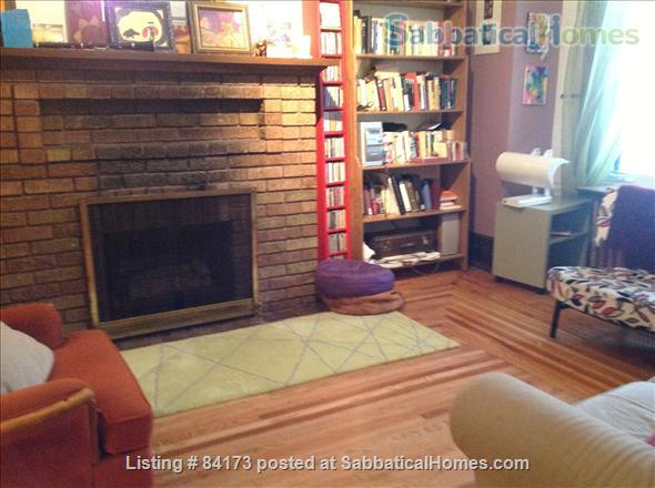 Charming and comfortable home opposite park Home Exchange in montreal, Quebec, Canada 4