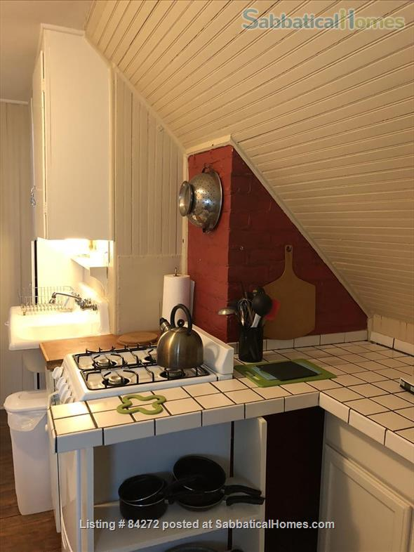 Downtown Ann Arbor,   furnished Efficiency in Historic Tudor apartment Bldg Home Rental in Ann Arbor, Michigan, United States 6