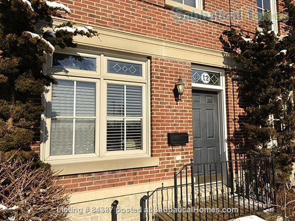 Renovated 3+1 bedroom, 2 bath Executive Townhouse facing a park, walk to U of T, subway. Home Rental in Toronto, Ontario, Canada 7