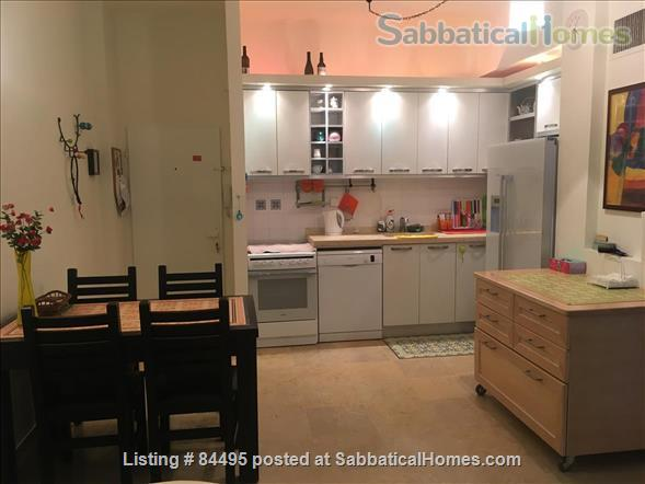 Very pleasant furnished flat in central Tel-Aviv overlooking a small park Home Rental in Tel Aviv-Yafo, Tel Aviv District, Israel 2