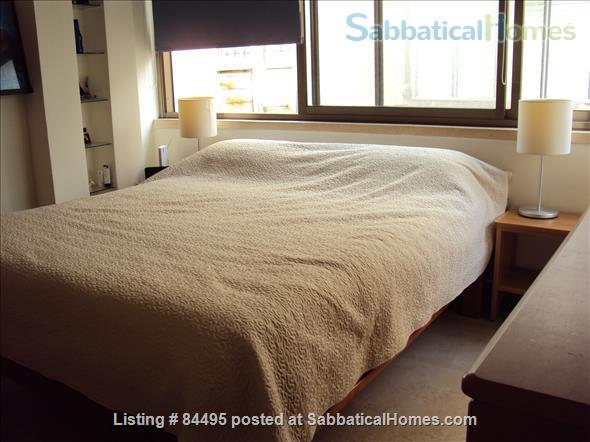 Very pleasant furnished flat in central Tel-Aviv overlooking a small park Home Rental in Tel Aviv-Yafo, Tel Aviv District, Israel 6