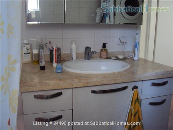 Very pleasant furnished flat in central Tel-Aviv overlooking a small park Home Rental in Tel Aviv-Yafo, Tel Aviv District, Israel 8