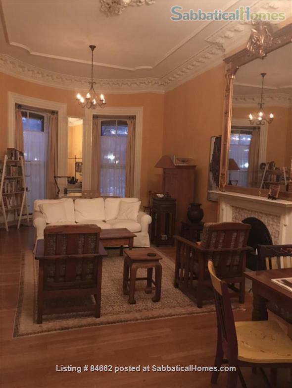 Period Victorian Boston Historic Neighborhood Condo with deck    Home Rental in Boston, Massachusetts, United States 1