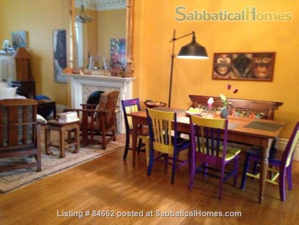 Period Victorian Boston Historic Neighborhood Condo with deck    Home Rental in Boston, Massachusetts, United States 2