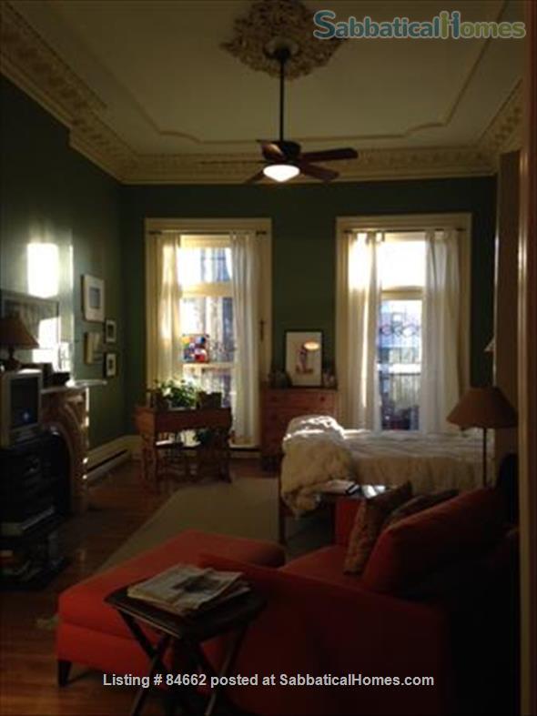 Period Victorian Boston Historic Neighborhood Condo with deck    Home Rental in Boston, Massachusetts, United States 4
