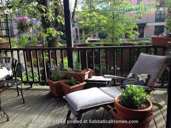 Period Victorian Boston Historic Neighborhood Condo with deck    Home Rental in Boston, Massachusetts, United States 8