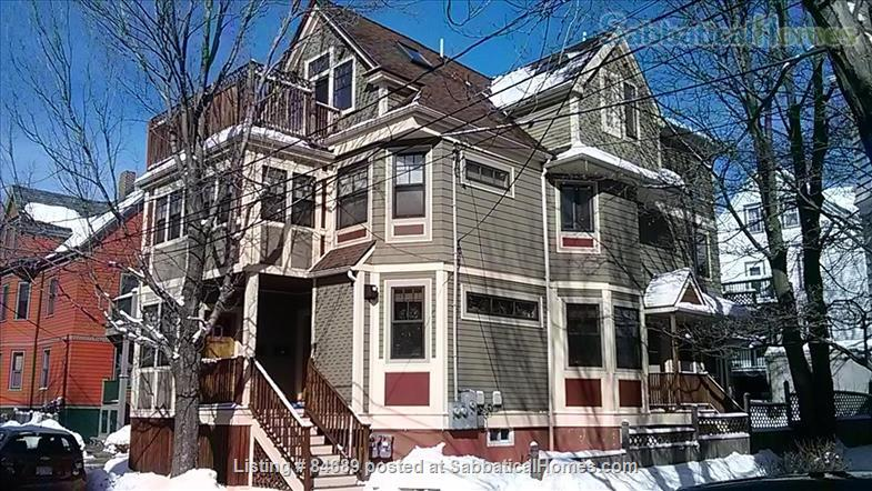 Comfortable and luxurious condo in Porter Square near Harvard, MIT, and Tufts Home Rental in Somerville, Massachusetts, United States 1
