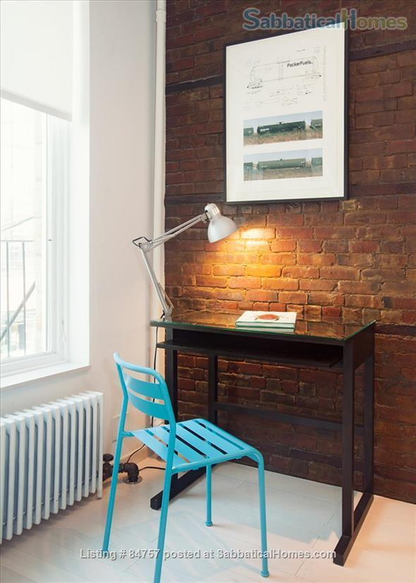 Perfect WFH:Stylish Artist Loft/Disinfected, Original Artwork, FAST WiFi Home Rental in Queens County, New York, United States 4