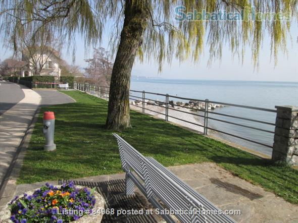 Lausanne / St-Sulpice large apartment close to EPFL and lake, with swimming pool and tennis Home Rental in St-Sulpice, VD, Switzerland 1