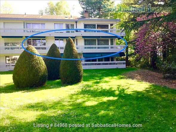 Lausanne / St-Sulpice large apartment close to EPFL and lake, with swimming pool and tennis Home Rental in St-Sulpice, VD, Switzerland 0