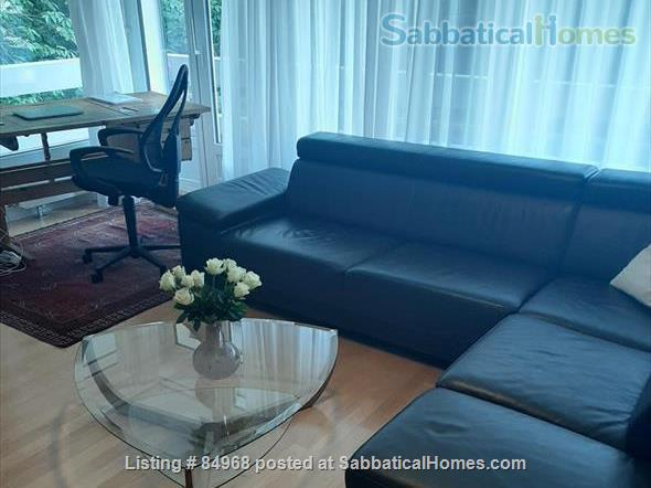 Lausanne / St-Sulpice large apartment close to EPFL and lake, with swimming pool and tennis Home Rental in St-Sulpice, VD, Switzerland 4