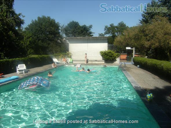 Lausanne / St-Sulpice large apartment close to EPFL and lake, with swimming pool and tennis Home Rental in St-Sulpice, VD, Switzerland 7