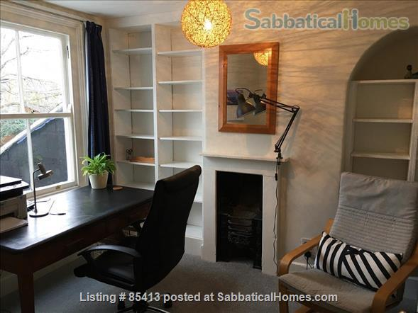 2 bedroom Victorian terrace house on Osney Island, 20 mins walk from City Centre, all utilities and unlimited WIFI included Home Rental in Oxfordshire, England, United Kingdom 5