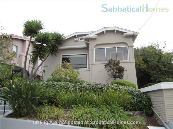 light bright craftsman bungalow Home Rental in Oakland, California, United States 1