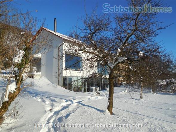 Large modern studio, country side near Lausanne UNIL - EPFL, quiet and well equiped Home Rental in Berolle, VD, Switzerland 2
