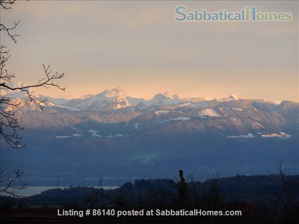 Large modern studio, country side near Lausanne UNIL - EPFL, quiet and well equiped Home Rental in Berolle, VD, Switzerland 4