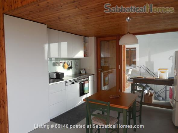 Large modern studio, country side near Lausanne UNIL - EPFL, quiet and well equiped Home Rental in Berolle, VD, Switzerland 5