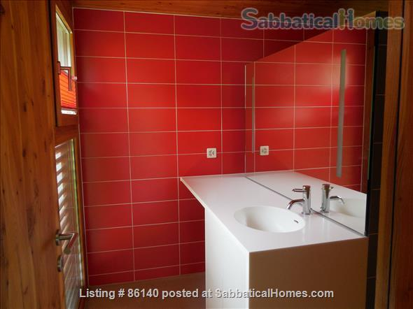 Large modern studio, country side near Lausanne UNIL - EPFL, quiet and well equiped Home Rental in Berolle, VD, Switzerland 8