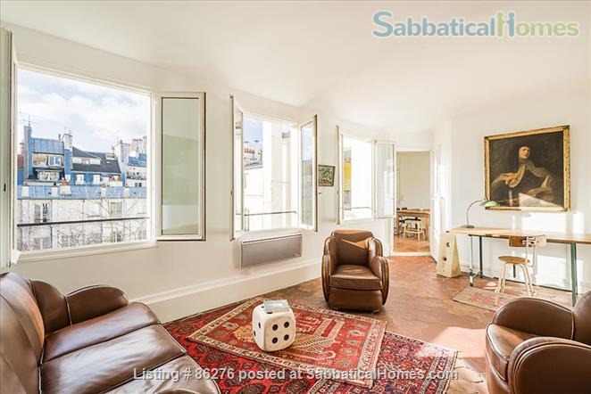 Appartment with a view in the very center of Paris  Home Rental in Paris, IDF, France 1