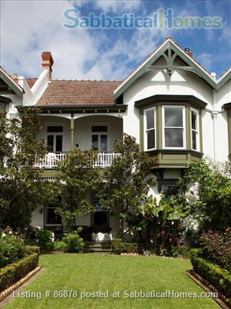 HISTORIC HOME IN CENTRAL AUCKLAND Home Rental in Auckland, Auckland, New Zealand 1