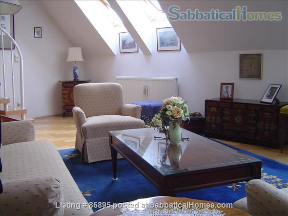 Duplex Apartment with large Rooftop Terrace Home Rental in Vienna, Vienna, Austria 1