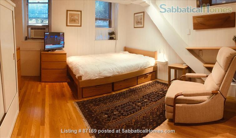 WALK TO HARVARD - 1-Bedroom Studio, garden level. Laundry, heat, all utils. Home Rental in Cambridge 1
