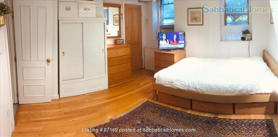 WALK TO HARVARD - 1-Bedroom Studio, garden level. Laundry, heat, all utils. Home Rental in Cambridge 0
