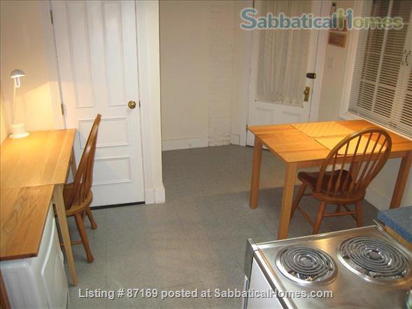 WALK TO HARVARD - 1-Bedroom Studio, garden level. Laundry, heat, all utils. Home Rental in Cambridge 5