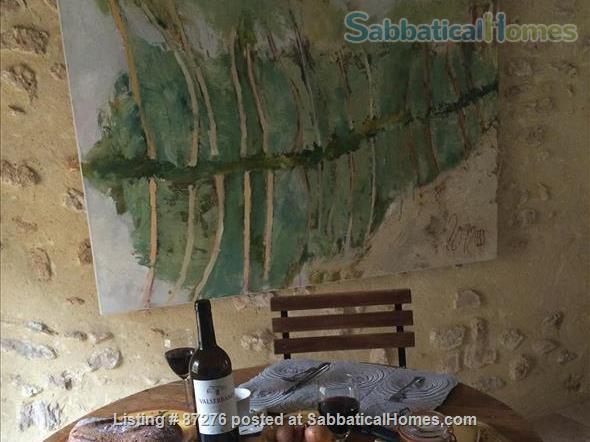 Rustic, artsy, close to nature. Home Rental in La Roque-Alric, Provence-Alpes-Côte d'Azur, France 6