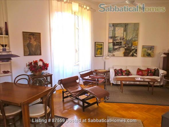 MONTEVERDE PAMPHILI /GIANICOLO HILL NEAR TRASTEVERE LARGE TERRACE STYLISH FURNISHED APARTMENT Home Rental in Rome, Lazio, Italy 1