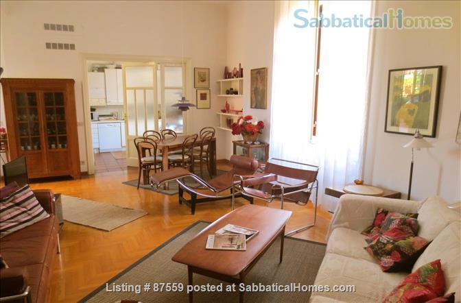 MONTEVERDE PAMPHILI /GIANICOLO HILL NEAR TRASTEVERE LARGE TERRACE STYLISH FURNISHED APARTMENT Home Rental in Rome, Lazio, Italy 0