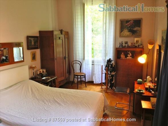 MONTEVERDE PAMPHILI /GIANICOLO HILL NEAR TRASTEVERE LARGE TERRACE STYLISH FURNISHED APARTMENT Home Rental in Rome, Lazio, Italy 4