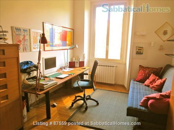 MONTEVERDE PAMPHILI /GIANICOLO HILL NEAR TRASTEVERE LARGE TERRACE STYLISH FURNISHED APARTMENT Home Rental in Rome, Lazio, Italy 8