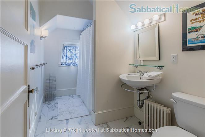 Cambridge: Beautiful 2 Bedroom+Office private apartment steps to Harvard , separate entrance, furnished  Home Rental in Cambridge, Massachusetts, United States 4