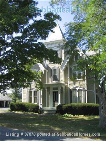 Large Victorian home on five acres, just a short drive to colleges Home Rental in Tompkins County, New York, United States 1