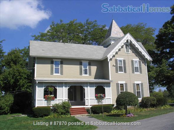 Large Victorian home on five acres, just a short drive to colleges Home Rental in Tompkins County, New York, United States 0