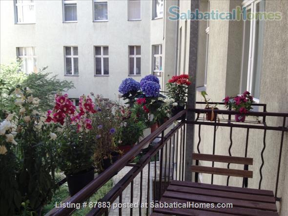 1 bdrm Fabulous Sabbatical Apartment in Berlin Lietzensee (Charlottenburg) 1050 euros/month Home Rental in Berlin, Berlin, Germany 2