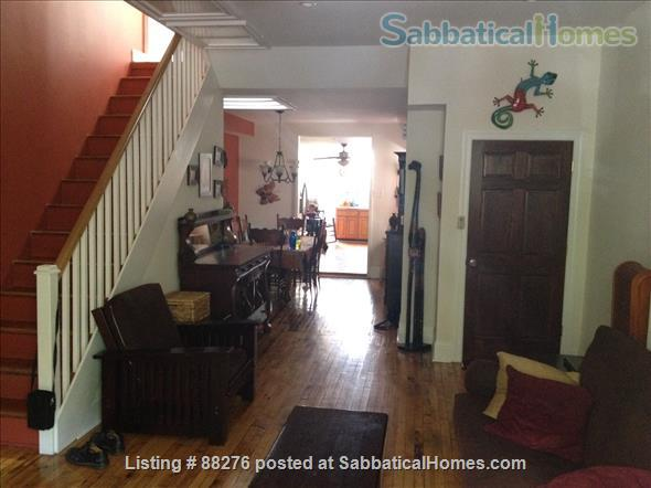 Restored Philly Row Home with Roof Deck & Edible Garden in Great Location! Home Rental in Philadelphia 2