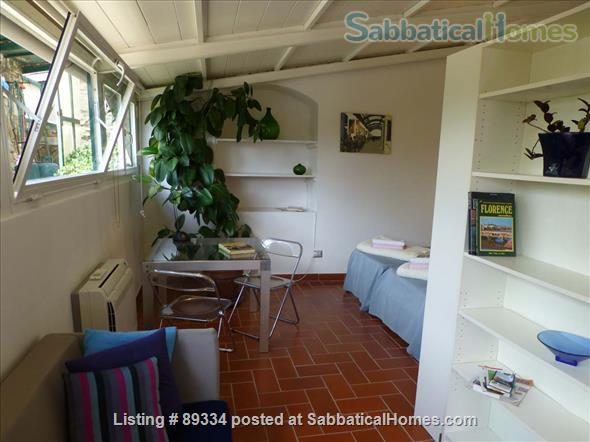 converted greenhouse Home Rental in Florence, Tuscany, Italy 2